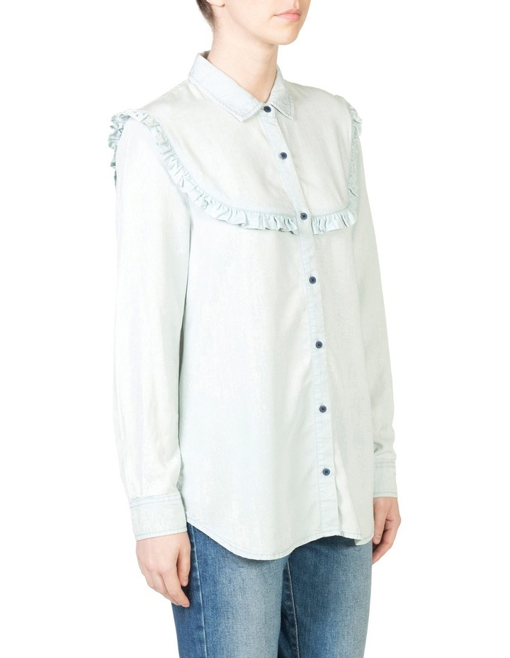 Frill Chambray Shirt image 2