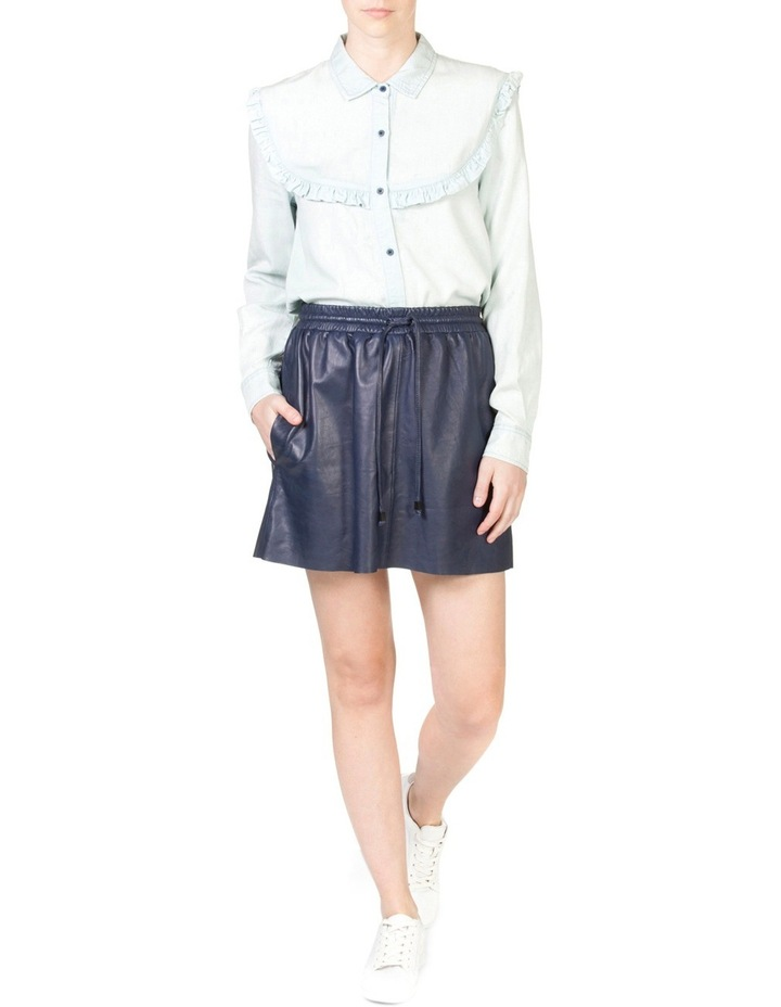 Frill Chambray Shirt image 4