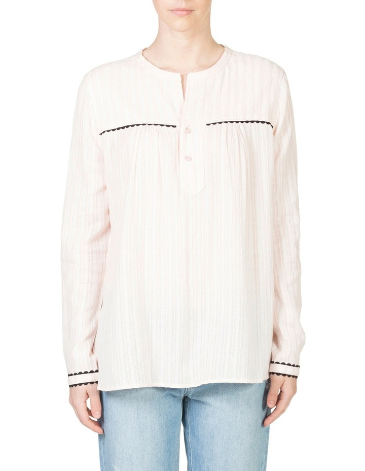 Tab Front Blouse image 1