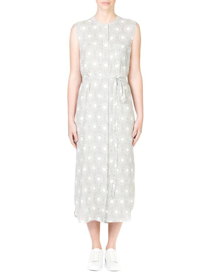 Sleeveless Button Through Dress image 1