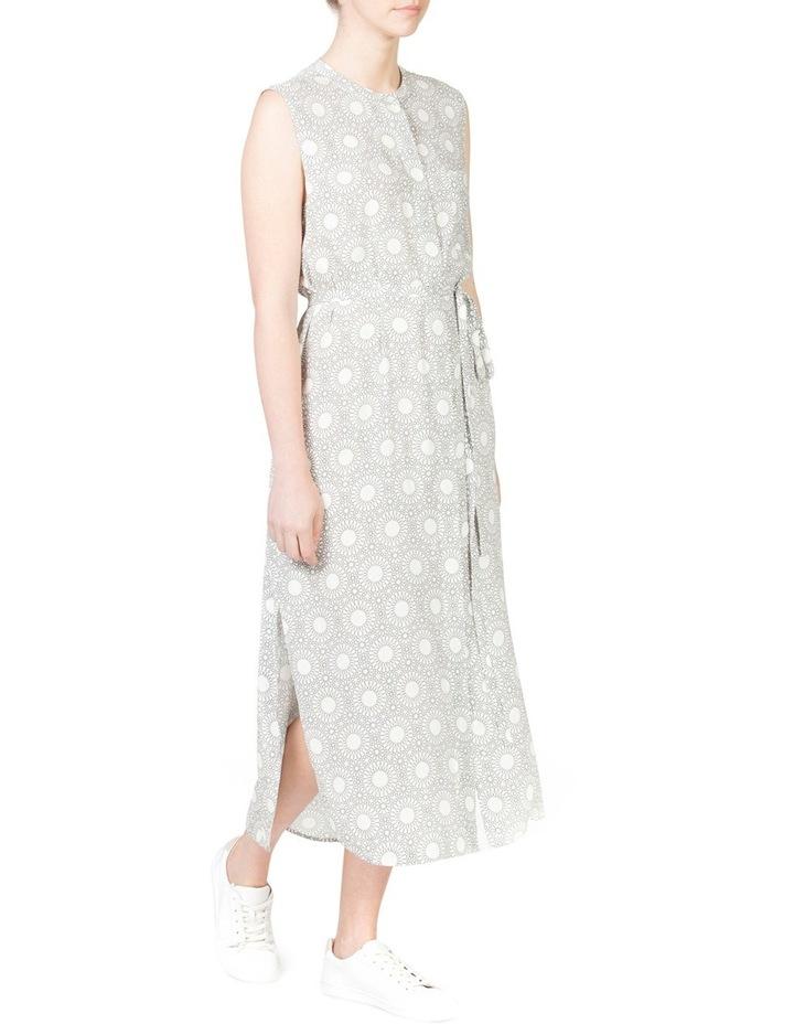 Sleeveless Button Through Dress image 4
