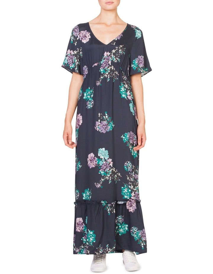 Muted Floral Maxi image 1