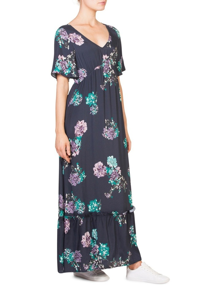 Muted Floral Maxi image 2
