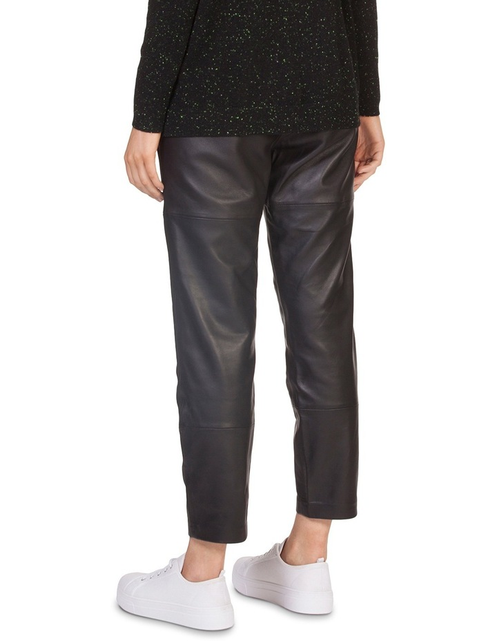 Leather Relaxed Pant image 3