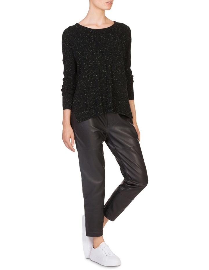 Leather Relaxed Pant image 4