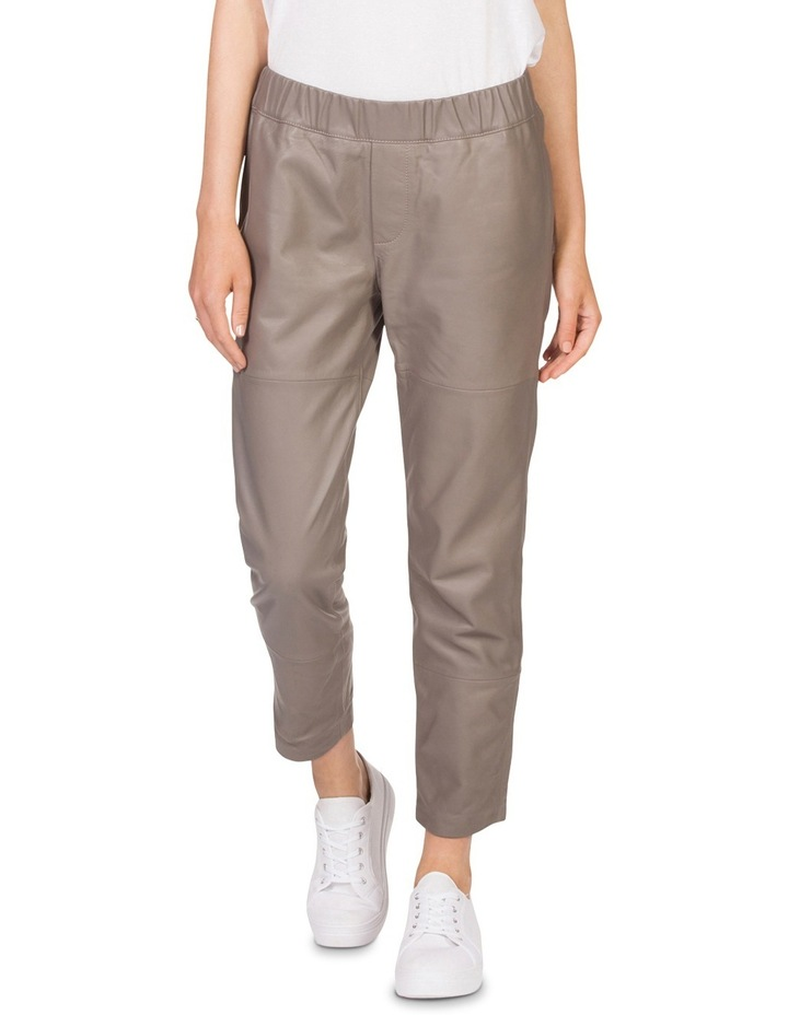 Leather Relaxed Pant image 1
