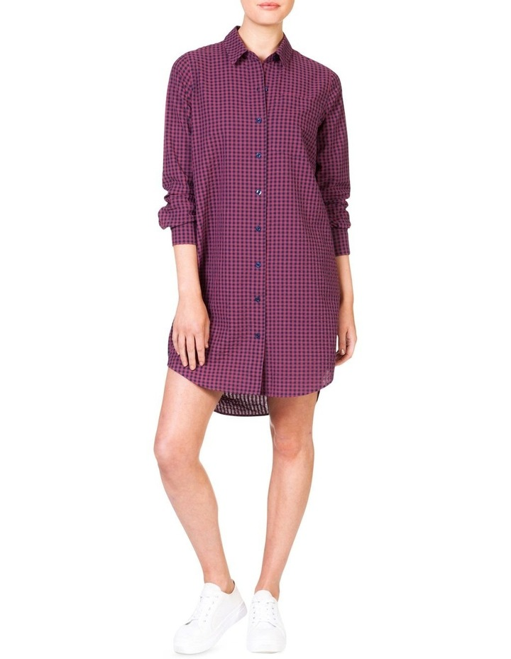 Cotton Shirt Dress image 1