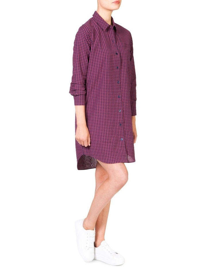 Cotton Shirt Dress image 3