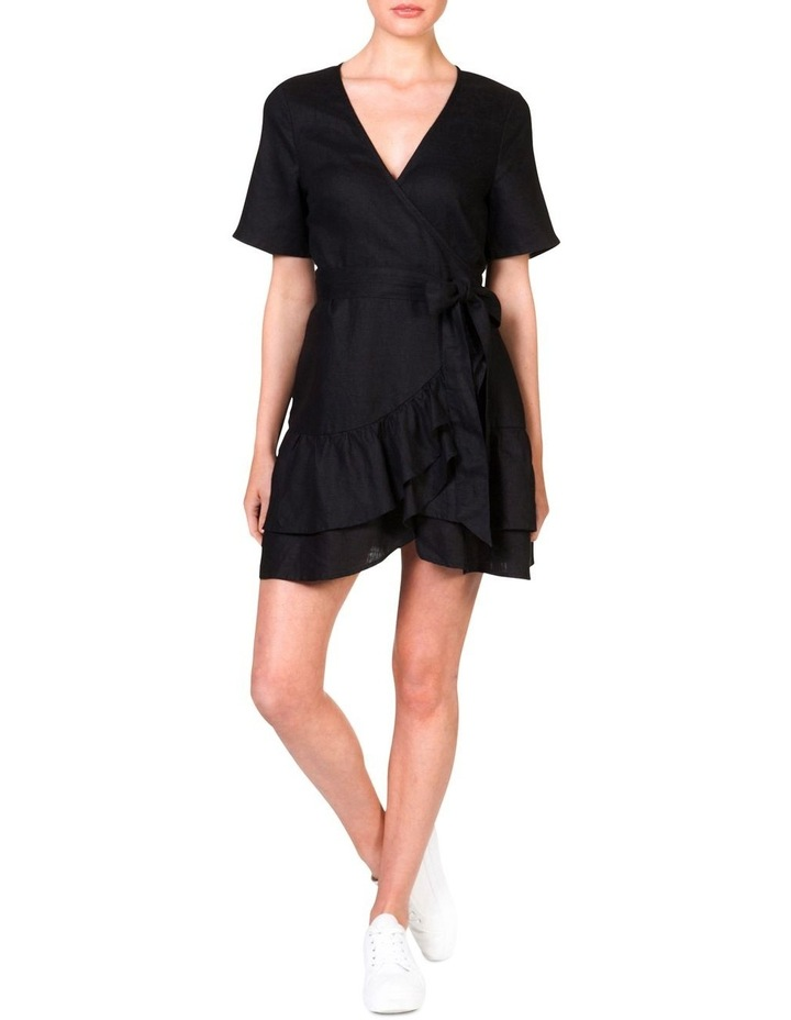 Wrap Frill Dress image 1