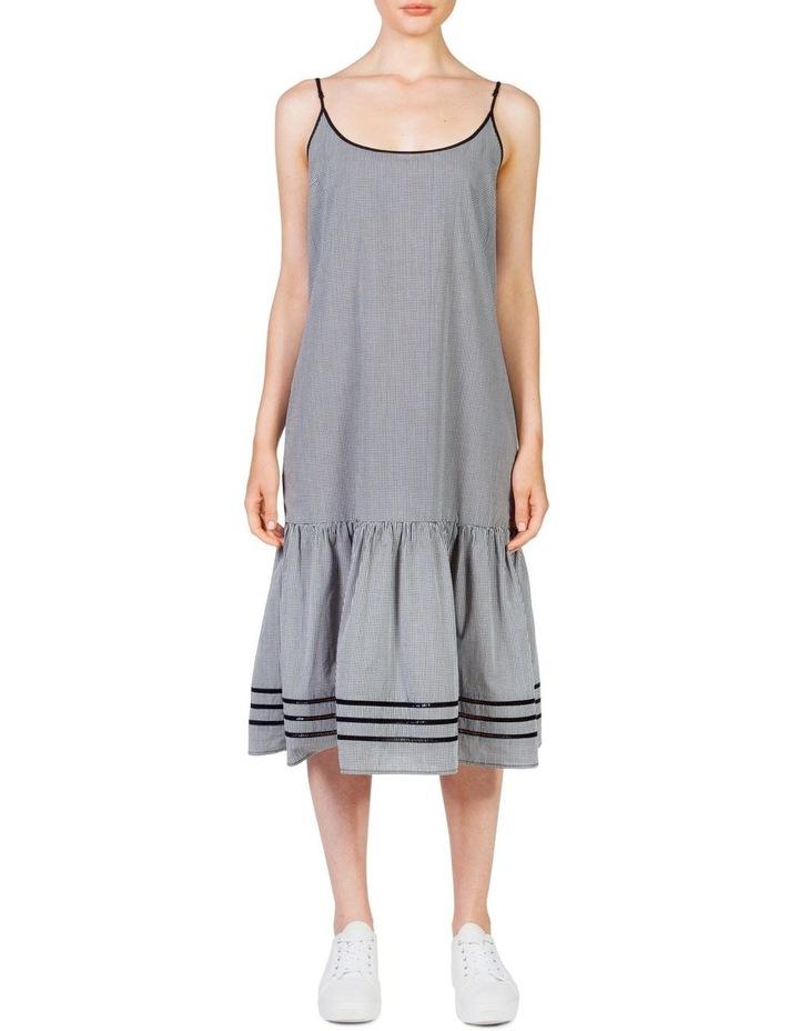 Gingham Maxi Frill Dress image 1