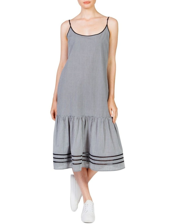 Gingham Maxi Frill Dress image 2