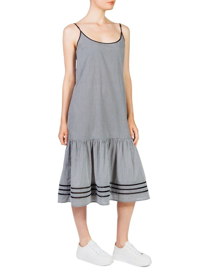 Gingham Maxi Frill Dress image 3