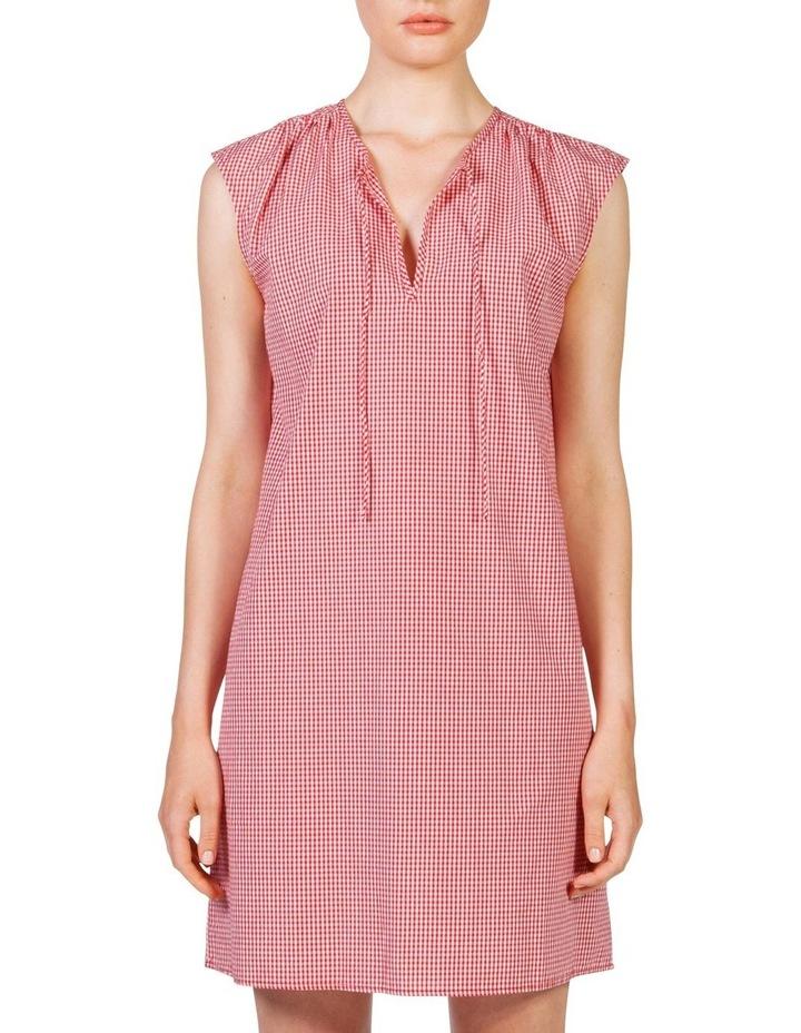 Gingham smock dress image 1