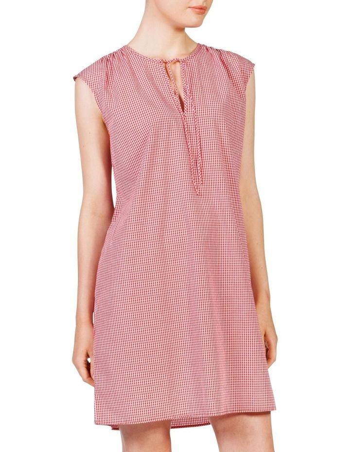 Gingham smock dress image 3