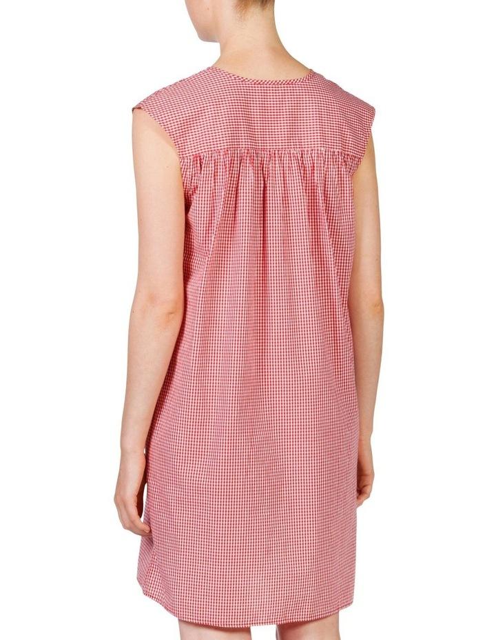 Gingham smock dress image 4