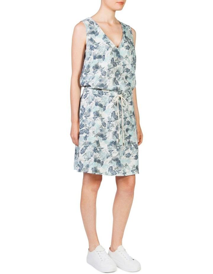 Linen drawstring dress image 2