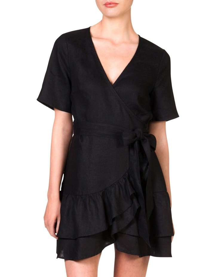 Wrap Frill Dress by Skin And Threads