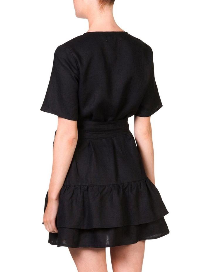 Wrap frill dress image 4