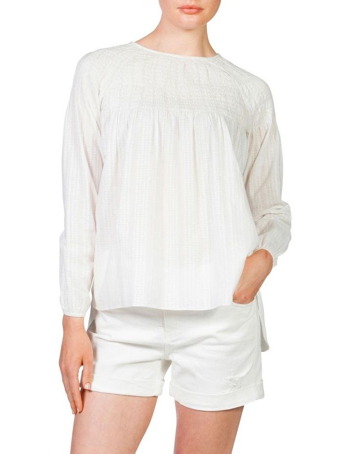 Shirred blouse image 2