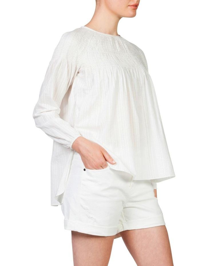 Shirred blouse image 3
