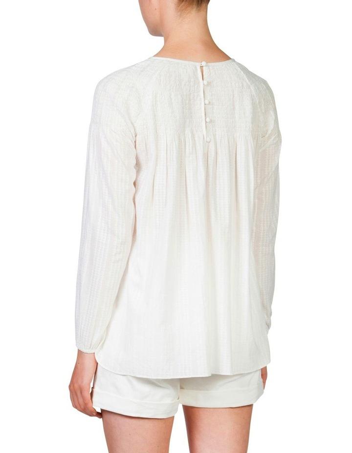 Shirred blouse image 4