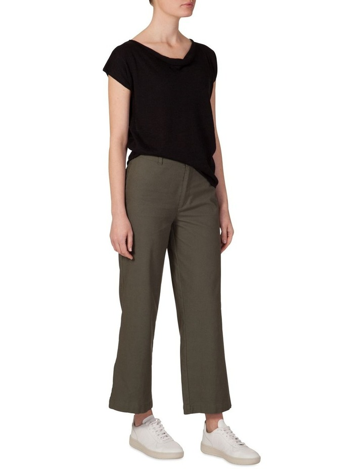 Canvas wide leg pant image 2