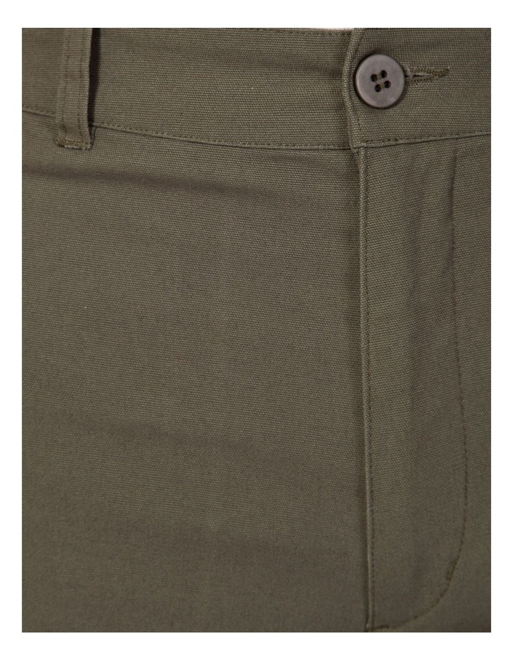 Canvas wide leg pant image 3