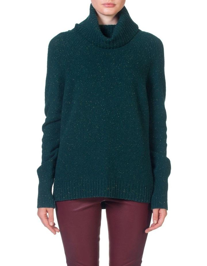 Roll Neck Side Split Sweater image 1