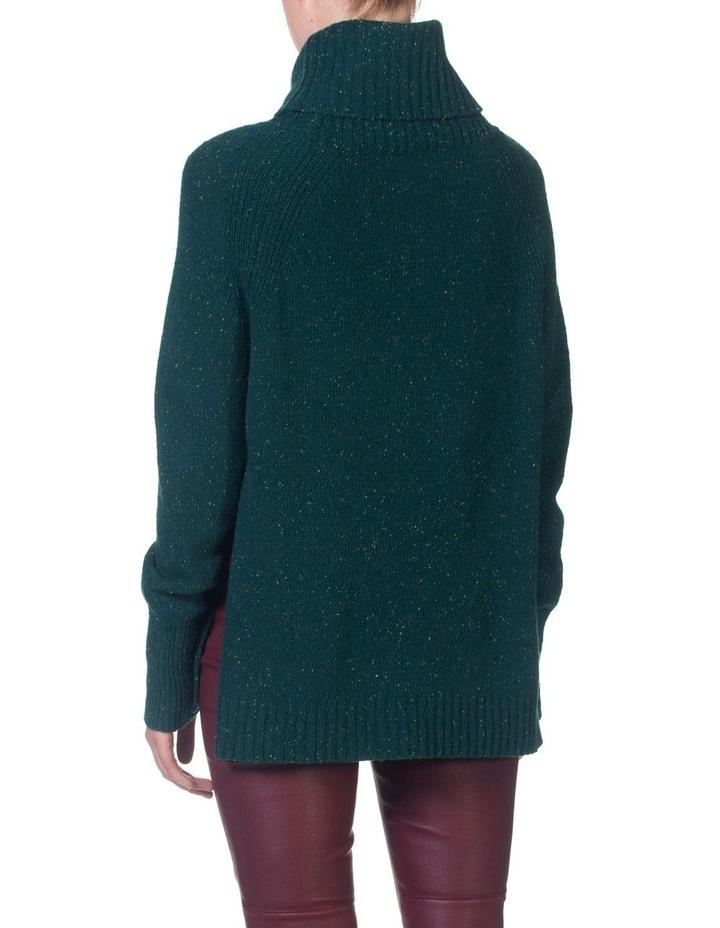 Roll Neck Side Split Sweater image 2