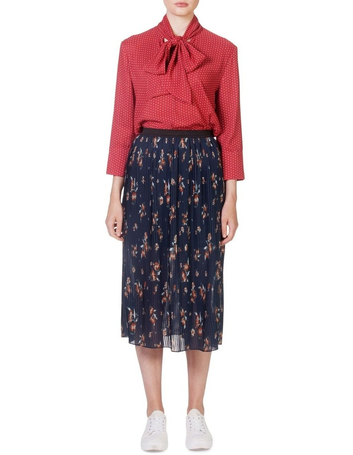 Pleat Swing Skirt image 1