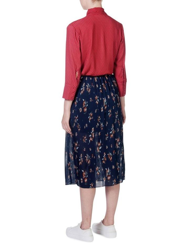 Pleat Swing Skirt image 3
