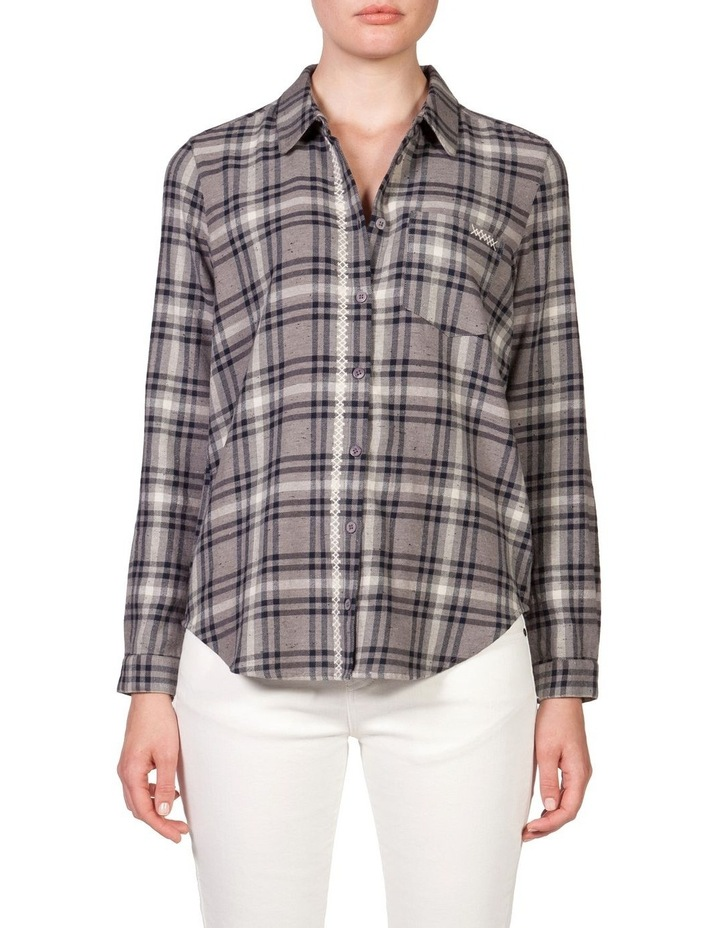Emboirded Placket Shirt image 1