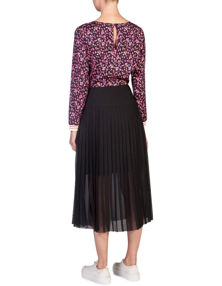 Drop-Waist Pleat Skirt image 2