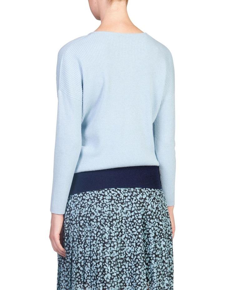 Tie Hem Sweater image 2