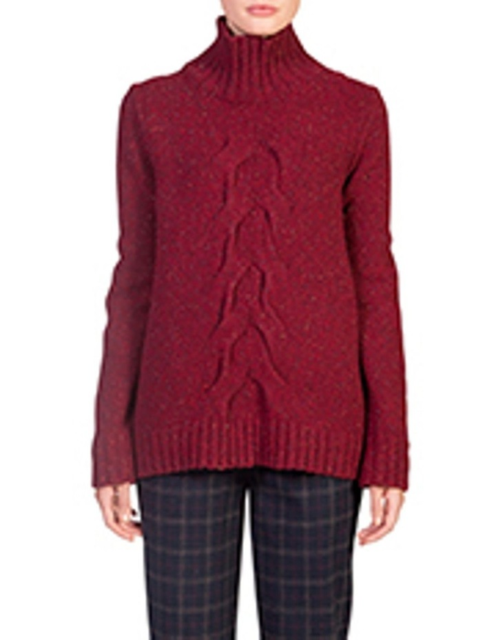 Cable Turtleneck image 1