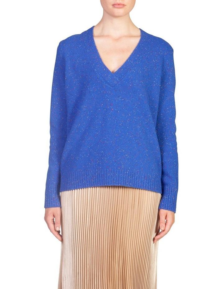 Oversized Wool V Neck image 1