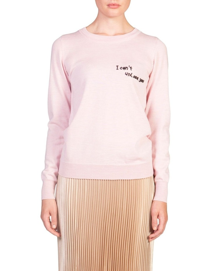 """I Can't Unlove You"" Sweater image 1"