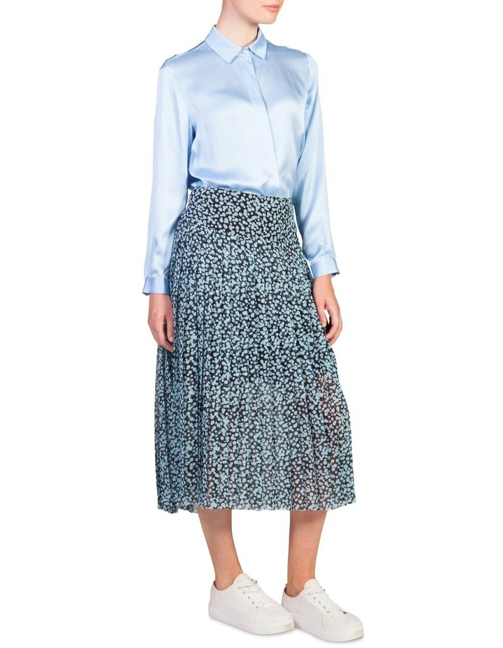 Drop-Waist Pleat Skirt image 2