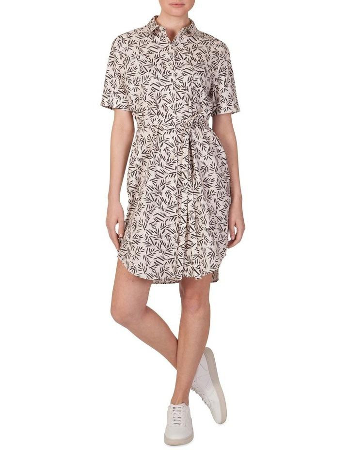 Short Sleeve Shirt Dress image 1