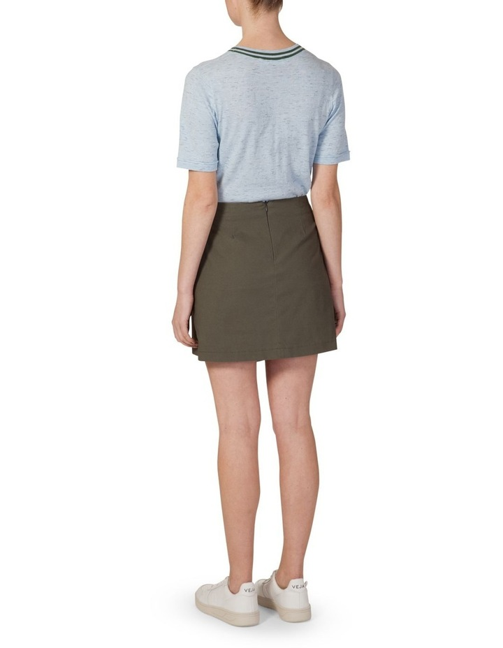 Asymmetrical Button Skirt image 3
