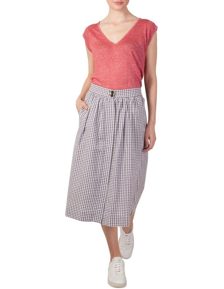 Cotton Button Through Skirt image 1