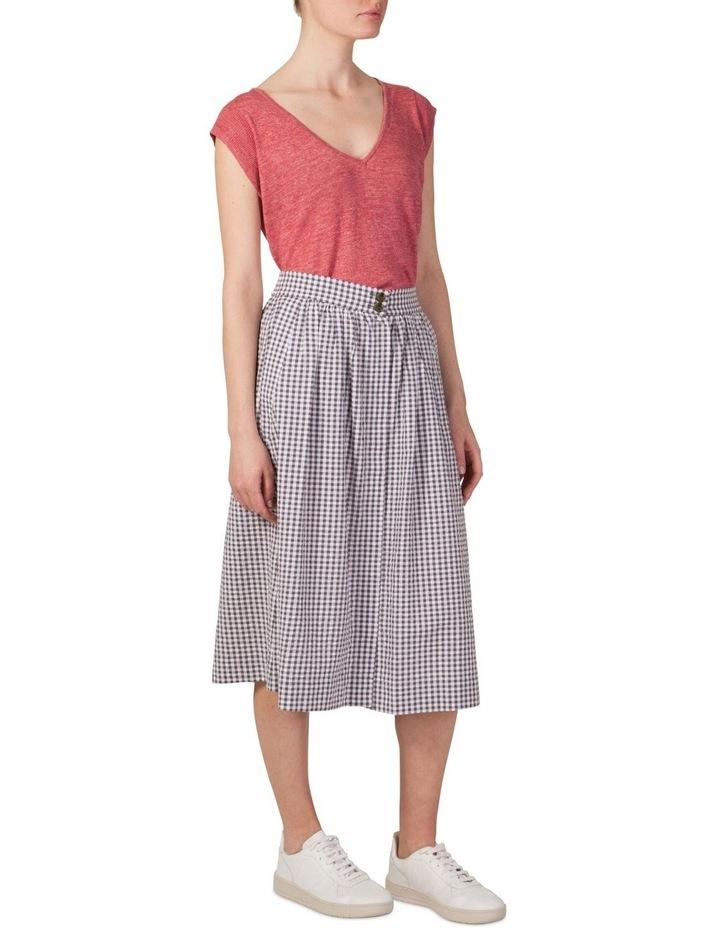 Cotton Button Through Skirt image 2