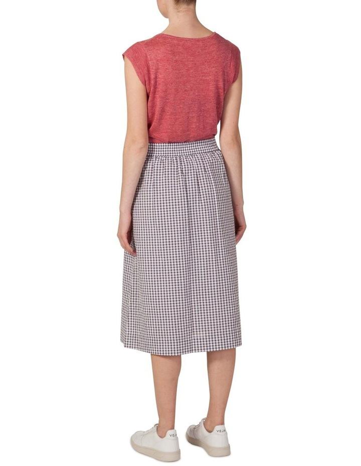Cotton Button Through Skirt image 3