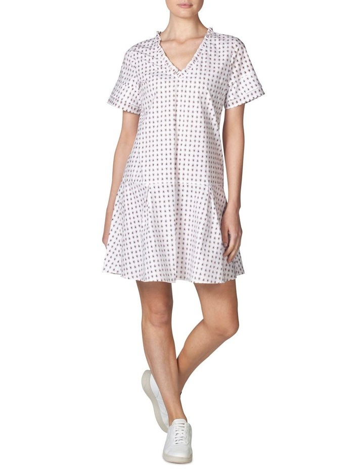 Tiered Sleeve Dropwaist Dress image 1