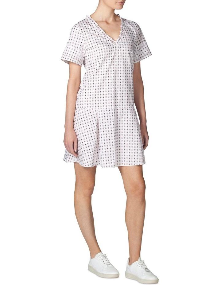Tiered Sleeve Dropwaist Dress image 2