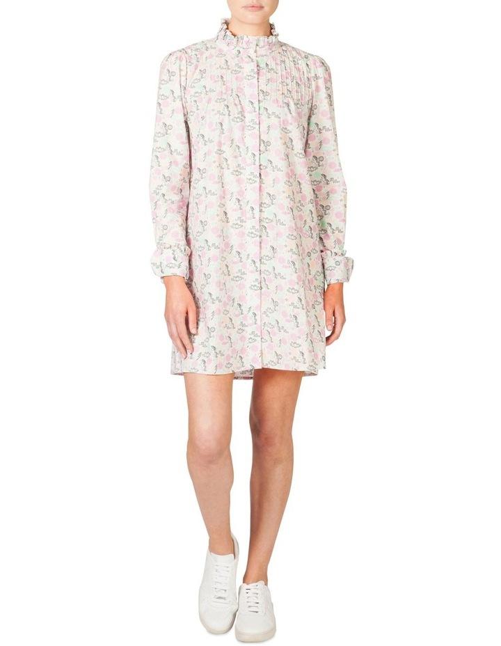 Frill Pintuck Dress (MLP) image 1
