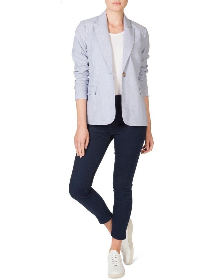 Cotton Stripe Blazer image 1
