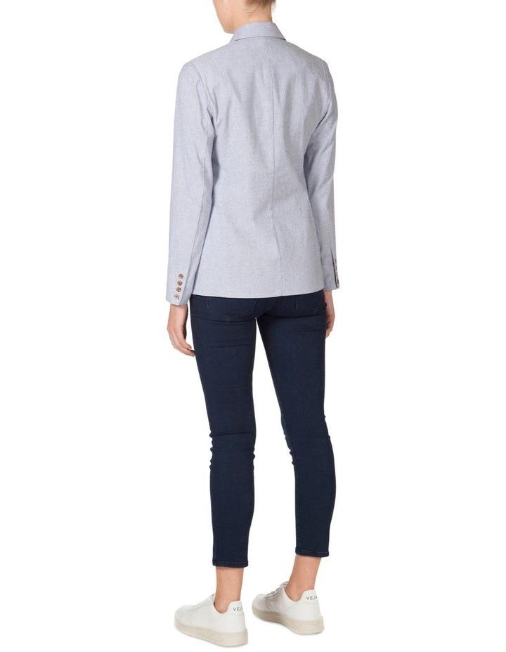 Cotton Stripe Blazer image 3