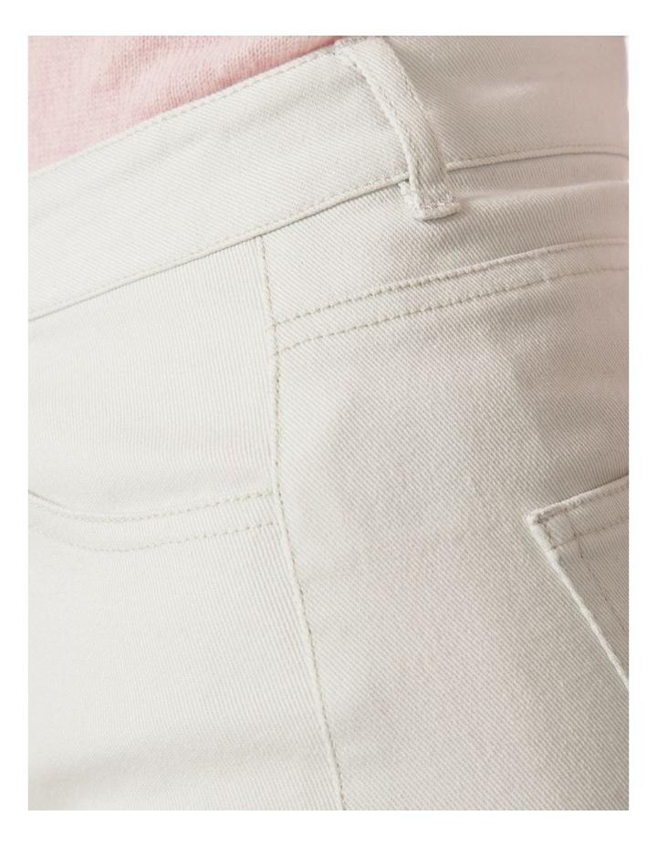 Denim Knee Length Skirt image 4