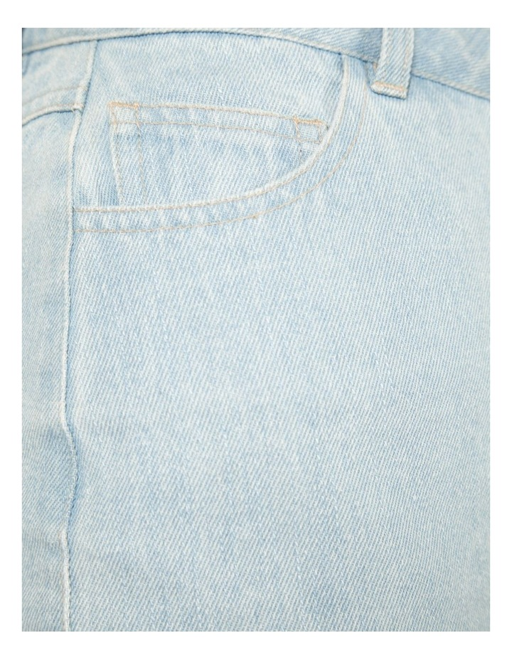 Scallop Hem Denim Skirt (MLP) image 4
